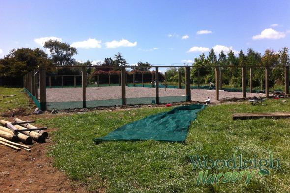 woodleigh nursery shade house